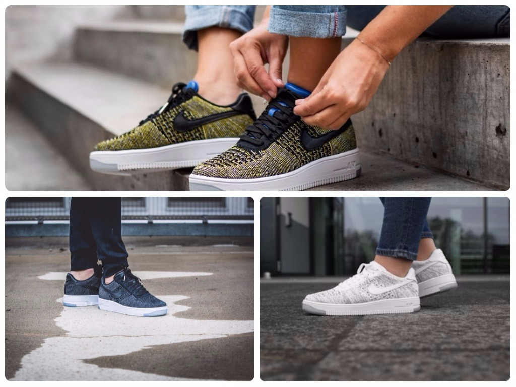 НА фото Nike-Air-Force-1-Flyknit-Low.